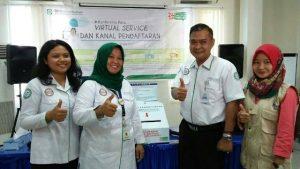 Jumpa pers virtual service dan kanal pendaftaran di BPJS Kesehatan Palopo.