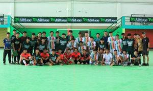 Tim Futsal Palopo Usai Melaksanakan Pertandingan Persahabatan